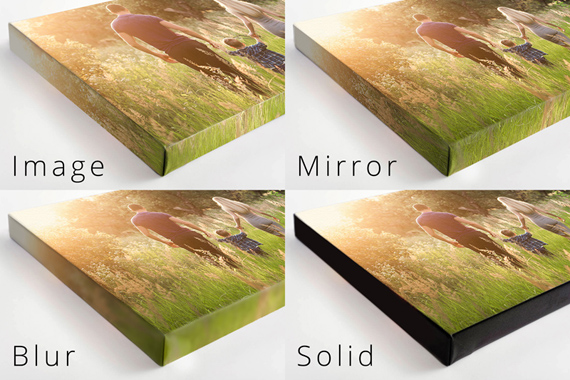 My photo on canvas gallery wrap in boise