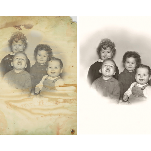 Color Damage Repair by Roots Family History