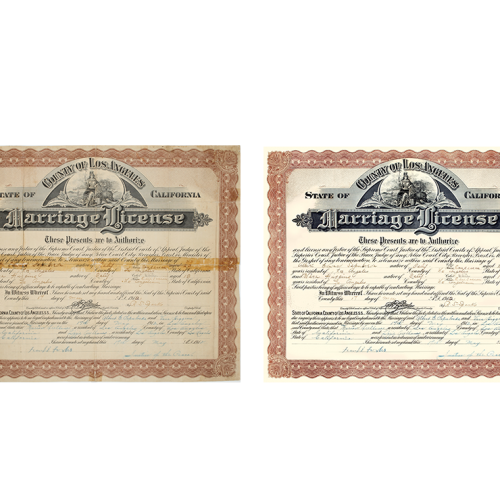 Document Repair by Roots Family History